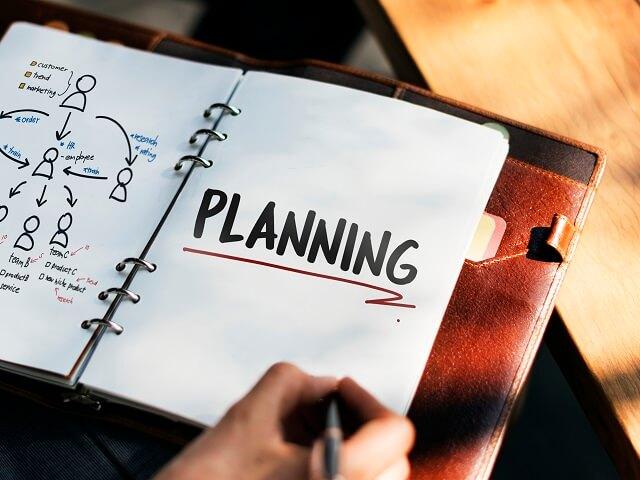 新年の計画を立てる会